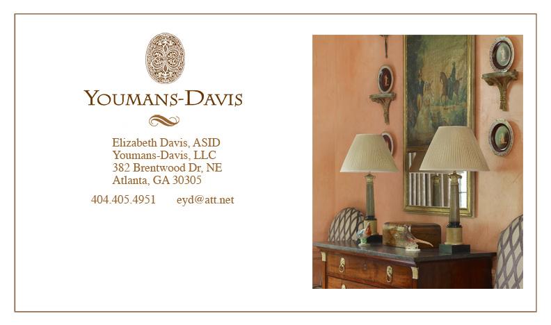 Contact Elizabeth Youmans Davis Interior Design Atlanta